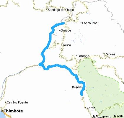 7. Valle de Chuquicara y Cañón del Pato