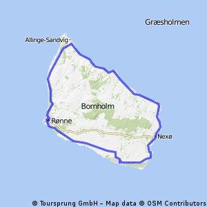 Inselumrundung 104km