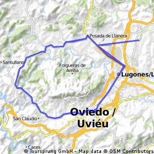 Rodeando el Naranco (Lugones)