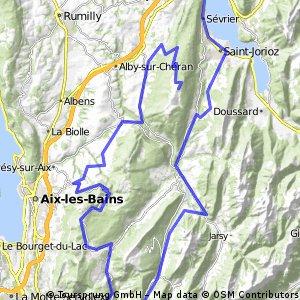 Etappe 20 Tour de France 2013 von Annecy nach Annecy-Semnoz CLONED FROM ROUTE 1879713