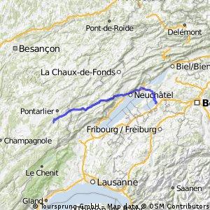 Morat - St.Point Lac (Etappe 1)