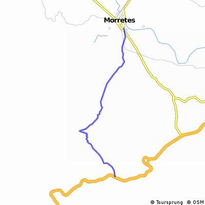 Caminho do Anhaia (BR277 - Morrets) CLONED FROM ROUTE 133789