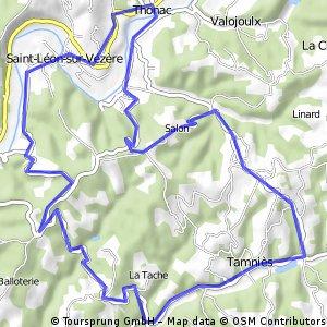Rondje Karin vanaf La Pinsonnerie