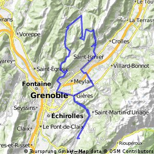 Chartreuse-Runde bei Grenoble