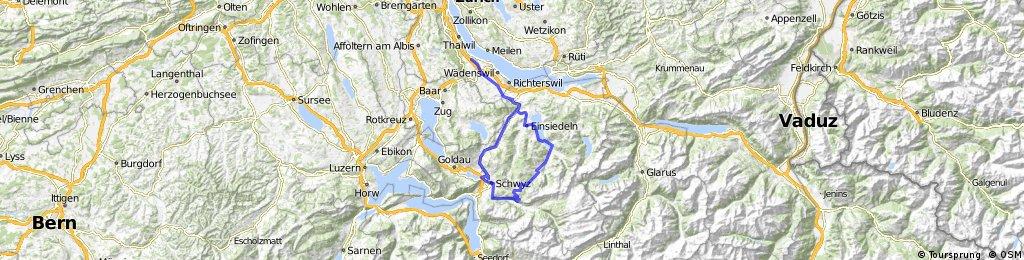 Horgen-Ibergeregg-Illgau-Schwyz-Horgen