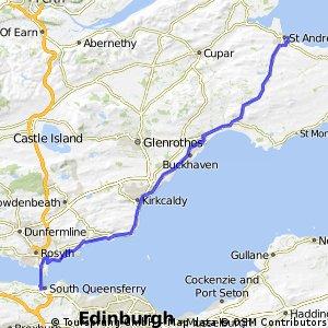 Edinburgh to St. Andrews
