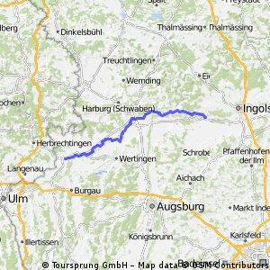 Ciclabile Danubio tedesco 4