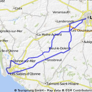 De la Roche sur Yon au Pays d'Olonne