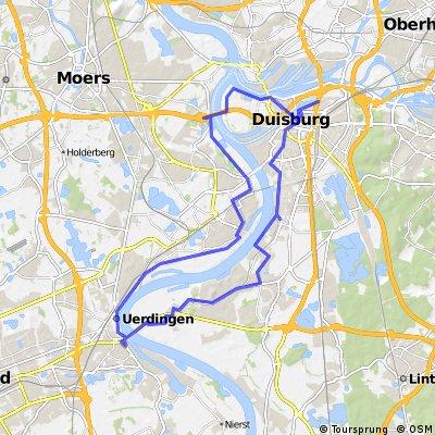 Duisburg mit Achterbahn