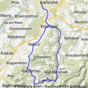 Von Karlsruhe ins Gaistal