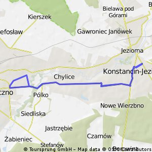 Konstancin - Piaseczno - Konstancin
