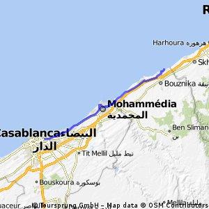 الدار البيضاء  - بوزنيقة