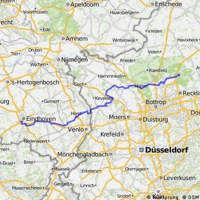 Stage 1 Tour du Nord 2014 Eindhoven - Hamm-Bossendorf 184km