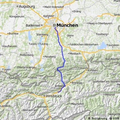 München-Achensee-Maurach-Weer