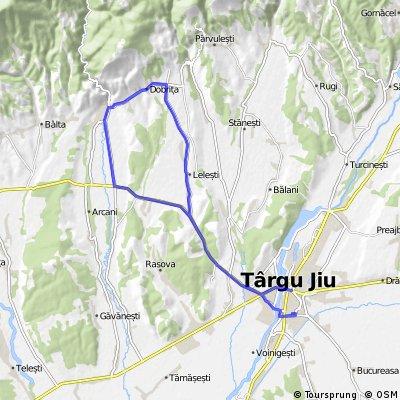 Tg-Jiu - Lelesti - Dobrita - Runcu - Tg-Jiu