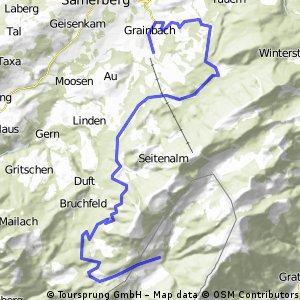 Grainbach - Spitzsteinhaus