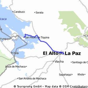 9a.La Paz-San Pedro de Tiquina