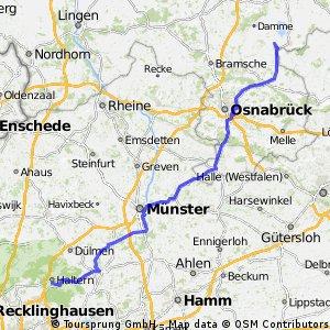 Stage 2 Le Tour du Nord 2014 Hamm-Bossendorf - Dielingen 143km