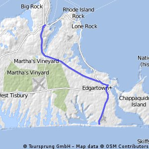 South Beach to Vineyard Haven