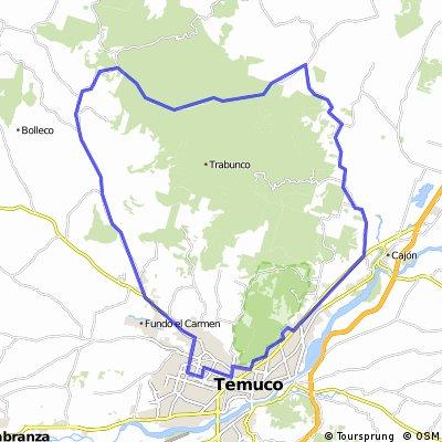 Temuco: Pumalal-El Yunque-Pailal-Temuco