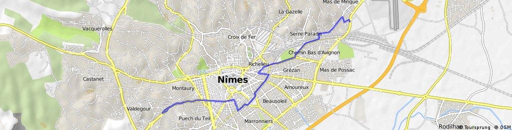 Nimes-Nimes Vuelta