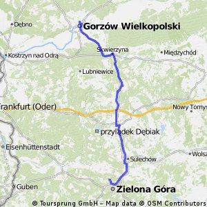 Gorzów - Zielona Góra - Łężyca