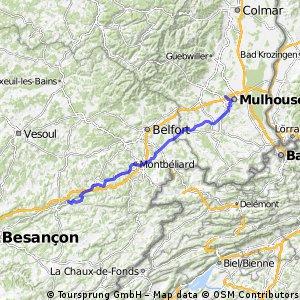 Etappe 4 Hochheim  - Nizza