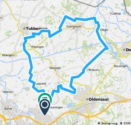 eigen route