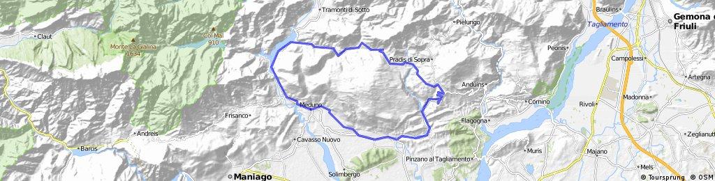Travesio-Clauzetto-Campone-Redona