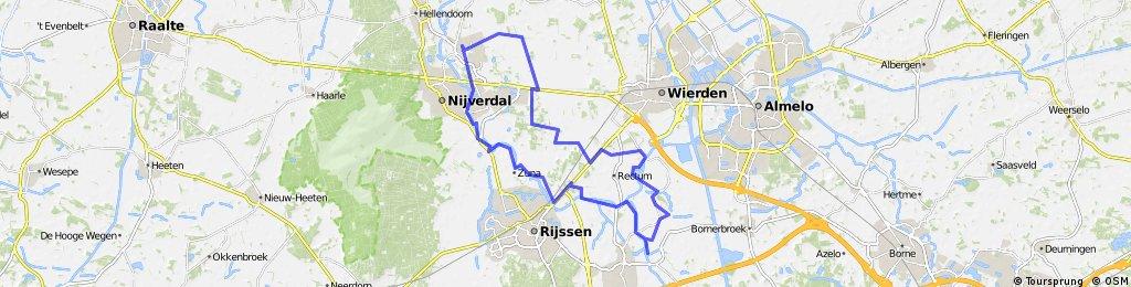 Rondje Nijverdal-Ypelo