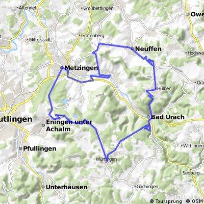 Klimrondje vanuit Dettingen a/d Erms