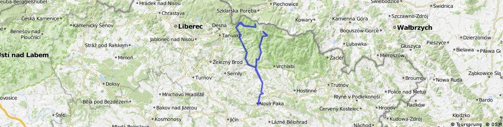 170 km trenink