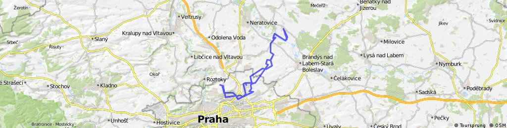 Chabry- Prosek - Ovčáry  CLONED FROM ROUTE 266524