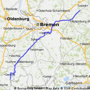 Stage 3 Tour du Nord 2014 Stemshorn - Stemmen 148km