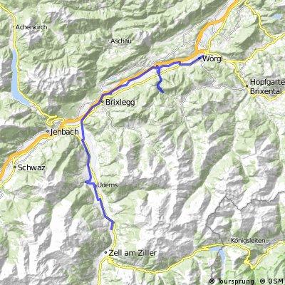 Zillertal-Z Worgl do Aschau