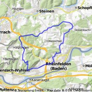 Rheinfelden_Rührberg_Hohe Flum_Rheinfelden