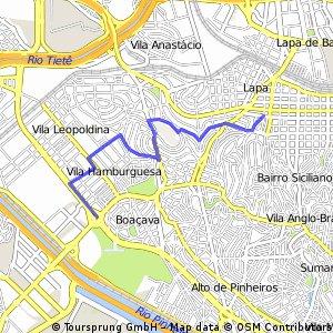 Gastão Vidigal - Rua Tito