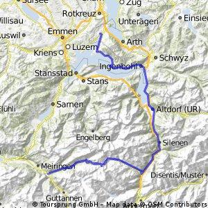 Innertkirchen-Sustenpass-Küssnacht