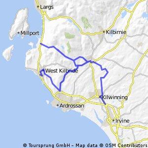 Kilwinning to West Kilbride