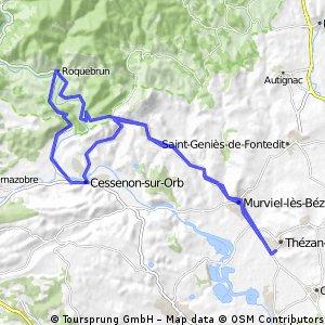 Boucle Thezan-Roquebrun