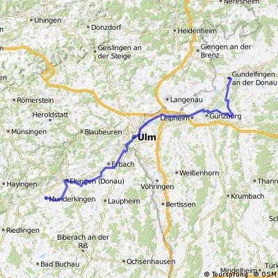 Ciclabile Danubio tedesco 3