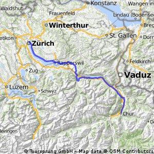 Zürich - Chur