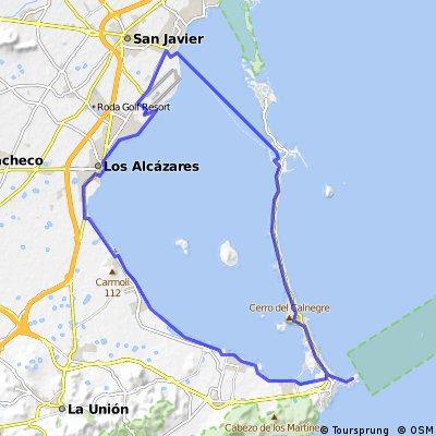 Circunvalar el Mar Menor