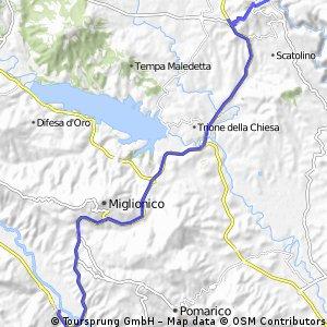 Matera - Ferrandina scalo - trains