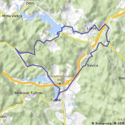 Fuzine Road 6