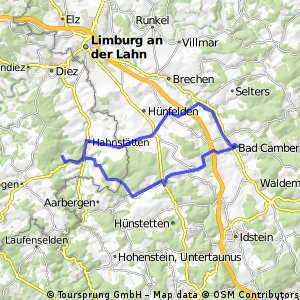 Zweiländertour Hessen - Rheinland Pfalz
