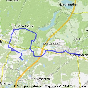 Ruhlsdorf Groß-Schönebeck Eberswalde
