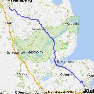 Stage 20 Tour du Nord 2014 Jarplund - Kiel 80km