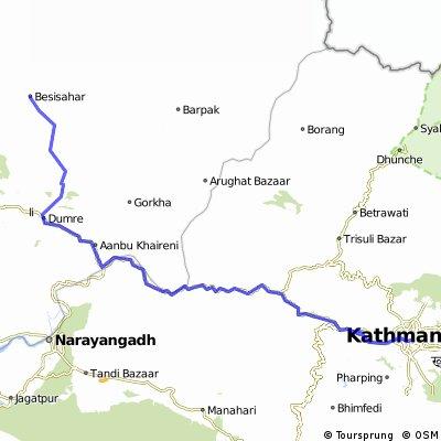 Nepal Annapurna Track
