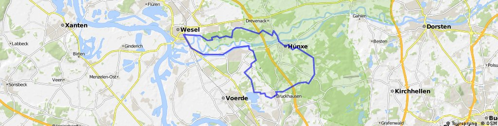 Hennes Route 1